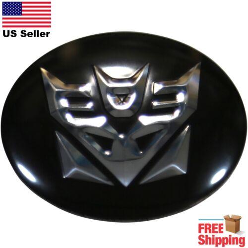 "DOME SHAPE 3D Metal Transformers Decepticons Auto Sticker Decal Emblem 2.20/"""