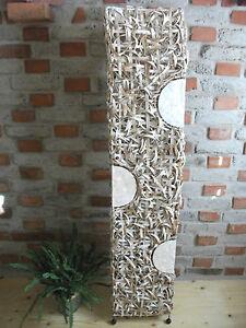 Das Bild Wird Geladen Lampe Perlmutt Rattan Beleuchtung Wohnzimmer  Dekoration Unikat Indonesien