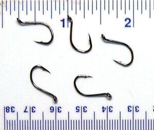 1000 GT 8299 2X strength Black Chrome Octopus Fish Hooks size 6//0-1000 hooks