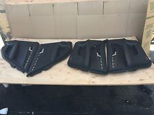 MERCEDES W204 C63 C300 C350 C250 100% LEATHER DOOR PANEL PANELS COVER SET OEM