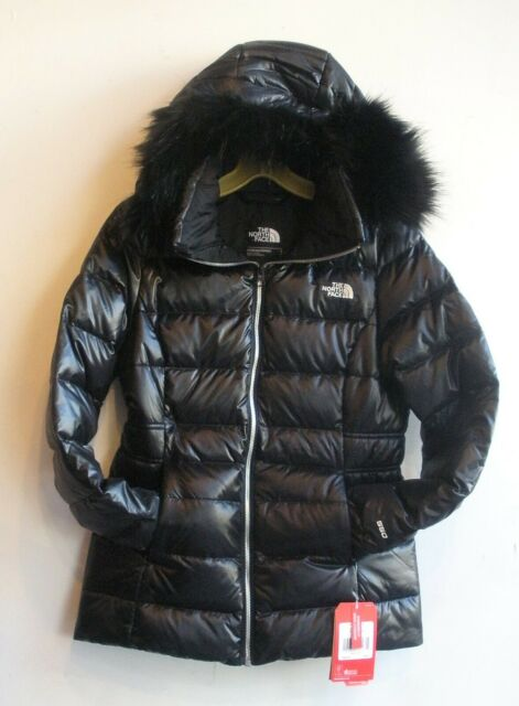 THE NORTH FACE  WOMEN/'S GOTHAM JACKET/'/' BLACK /& GREY //SIZE S..M.