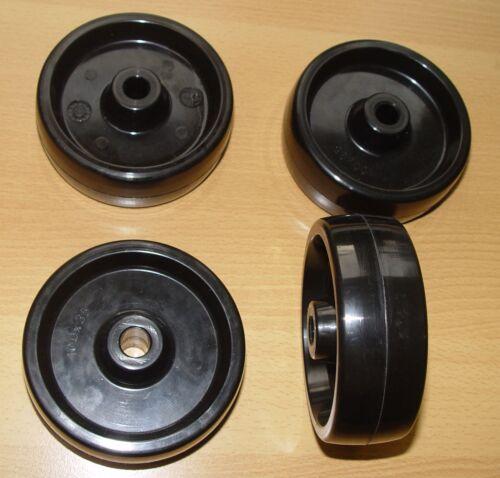 RUOTE ruoli resistente al calore ideale polvere rivestimento impianti Raddurchmesser 80mm