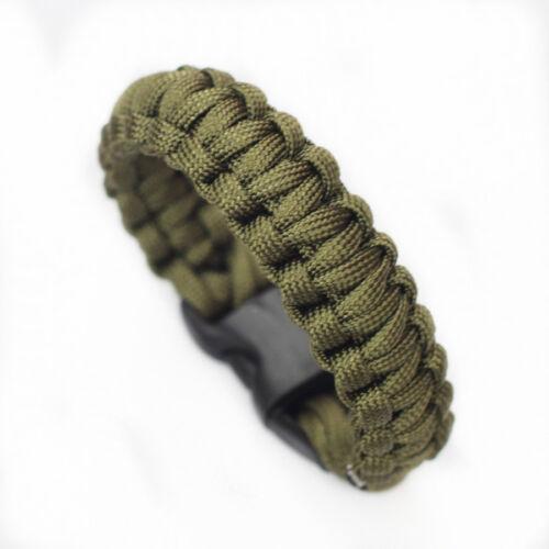 249,5kg Paracorde Bracelet De Survie 7 Strand Parachute Urgence Camping