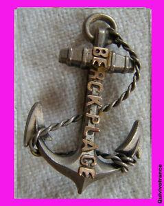 BG3273 - INSIGNE BROCHE ANCRE BERCK PLAGE tNxOEzre-09092357-584444668