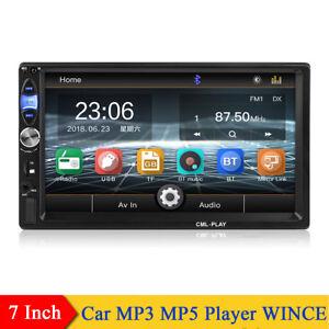 7-034-2-Din-MP5-Player-WINCE-System-Bluetooth-Spiegelverbindung-mit-Fernbedienung
