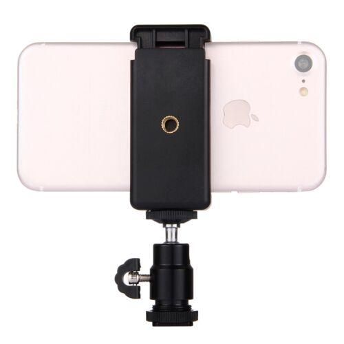 """Supporto Adattatore con snodo per Selfie Cellulari Cavalletto Stativo 1//4/"""""""