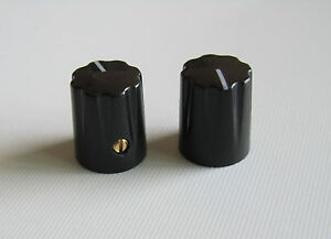 Effects pedal knobs