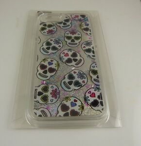 fits-iPhone-6-cel-phone-case-cool-day-of-dead-skulls-glitter-gel-moves-halloween