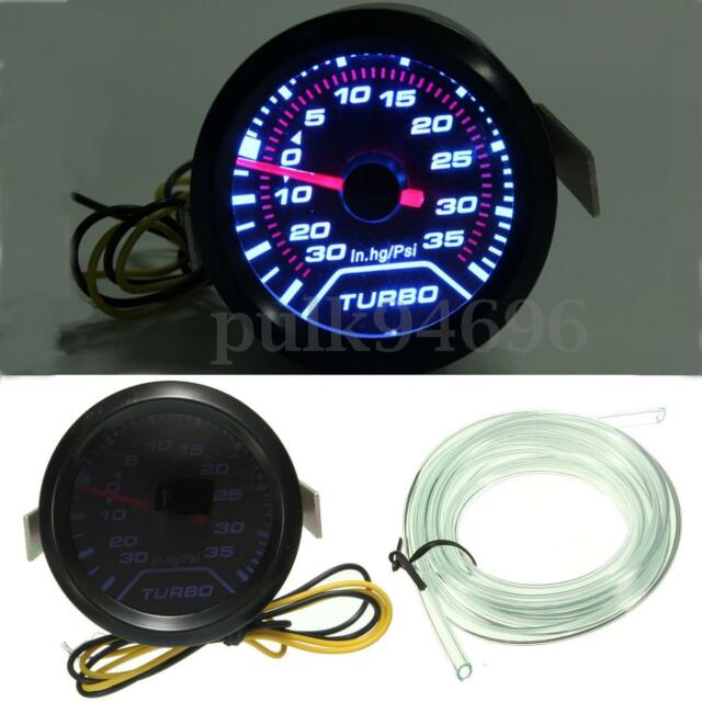 2'' 52mm Universal LED Turbo Boost Vacuum Press Pressure Gauge Meter up