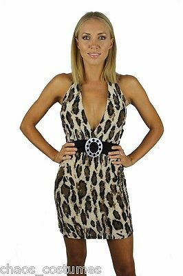 Sexy Cocktail Hot Naughty Style Fashion Designer Adult Night Club Dress 8 10 12