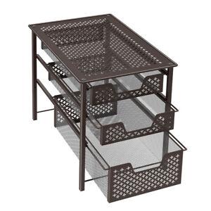 Cool Nex 3 Tier Drawer Rack Countertop Storage Organizer Spic Beutiful Home Inspiration Aditmahrainfo