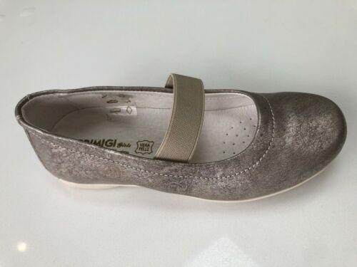 Primigi CAREE en Cuir Beige Lacet Pompe Chaussures Divers Tailles