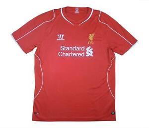 Liverpool 2014-15 ORIGINALE HOME (eccellente) XXL SOCCER JERSEY