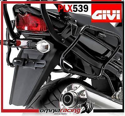 Tubular serón soporte para Monokey lado caja Suzuki GSF 650 Bandit/S 2007>2011
