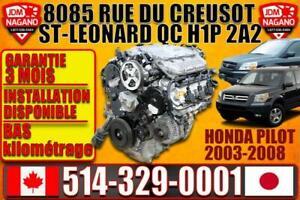 Honda pilot engine J35a9 2003-2008 City of Montréal Greater Montréal Preview