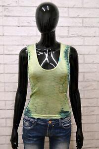 Maglia-JUST-CAVALLI-Donna-Taglia-Size-42-Maglietta-Canotta-Shirt-Woman-Slim-Fit