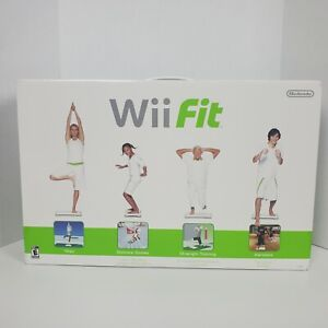 Nintendo Wii Fit Game and Wii Balance Board Bundle