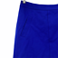 """thumbnail 2 - Mario Serrani Italy Women's Casual Solid Blue Skirt Back Zip A-line Size 10"""""""