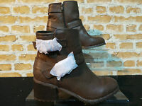 Ladies M&co Brown Mid Ankle Boots Uk 4 Euro 37 Rrp £45 Only £19.99