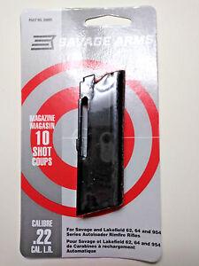 SAVAGE-ARMS-30005-Stevens-Lakefield-62-64-954-22L-10-Round-Magazine