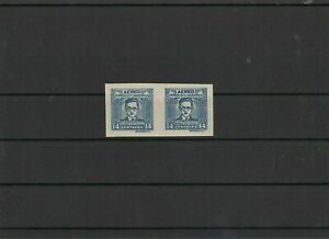 Salvador Imperf Stamp Mint Never Hinged Pair ref 21893