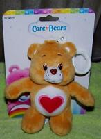 Care Bears Tenderheart Bear Backpack Or Purse Clip 5 Plush Free Shipping