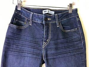 Detalles de Para mujer Levi negro Skinny Jeans Curve ID's moderna de tamaño 7M (28x30) 423 WPL ver título original