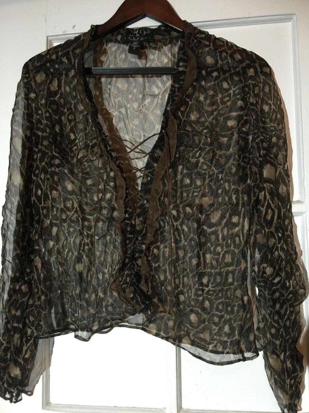Laundry silk  shiffon blouse