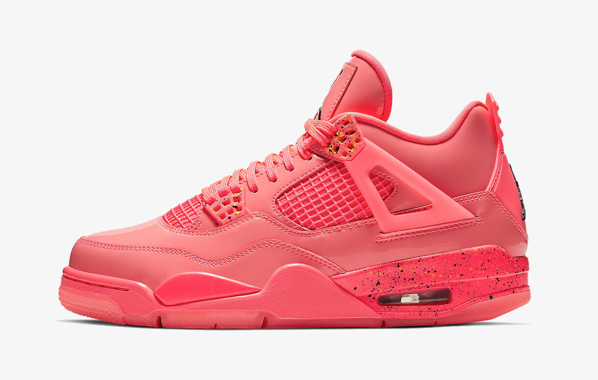 2019 WMNS Nike Air Jordan 4 IV Retro NRG SZ 6.5 Hot Punch Pink OG AQ9128-600