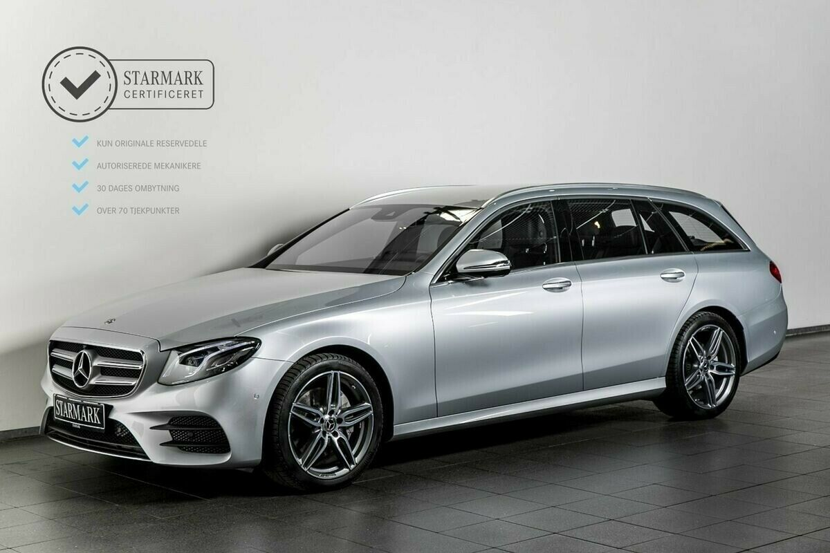 Mercedes-Benz E300 d 2,0 AMG Line stc. aut.