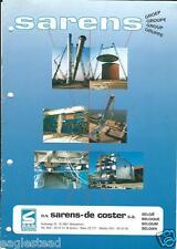 Equipment Brochure - Sarens - Heavy Lift Haul Crane Transport (E2706)