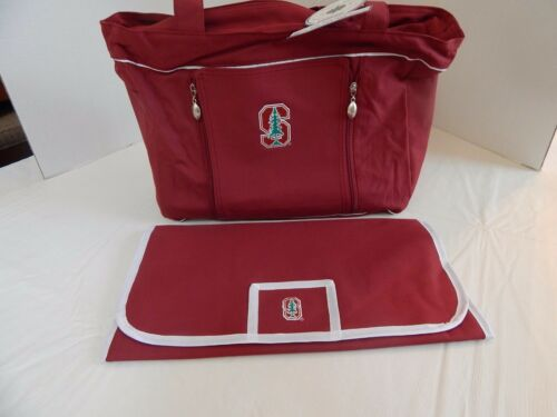Brand New Stanford Cardinals University Baby /& Toddler Diaper Bag w//Changing Pad