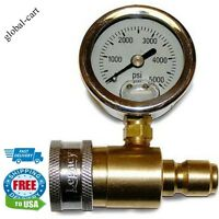 Pressure Washer Pressure Gauge Kit For Outdoor Discontinued By Manufacturer