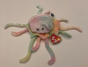 ccbd0f73f98 Image is loading RETIRED-GOOCHY-THE-JELLYFISH-TY-BEANIE-BABY-DOB-