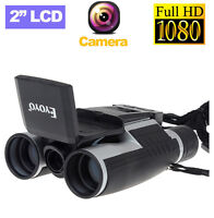 2 Lcd Full Hd 1080p Video Recording 12x32 Optical Digital Telescope Binocular