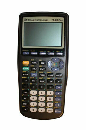 New Sealed Texas Instruments TI-83 Plus Graphing Calculator