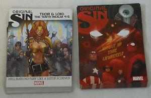 Dealer-039-s-LOT-2014-Marvel-ORIGINAL-SIN-Comic-Promo-Cards-53-copies-2-different