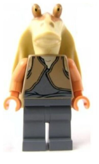 Star Wars Minifig SW301 Lego Jar Jar Binks Good Condition