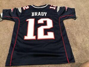 tom brady jersey stitched