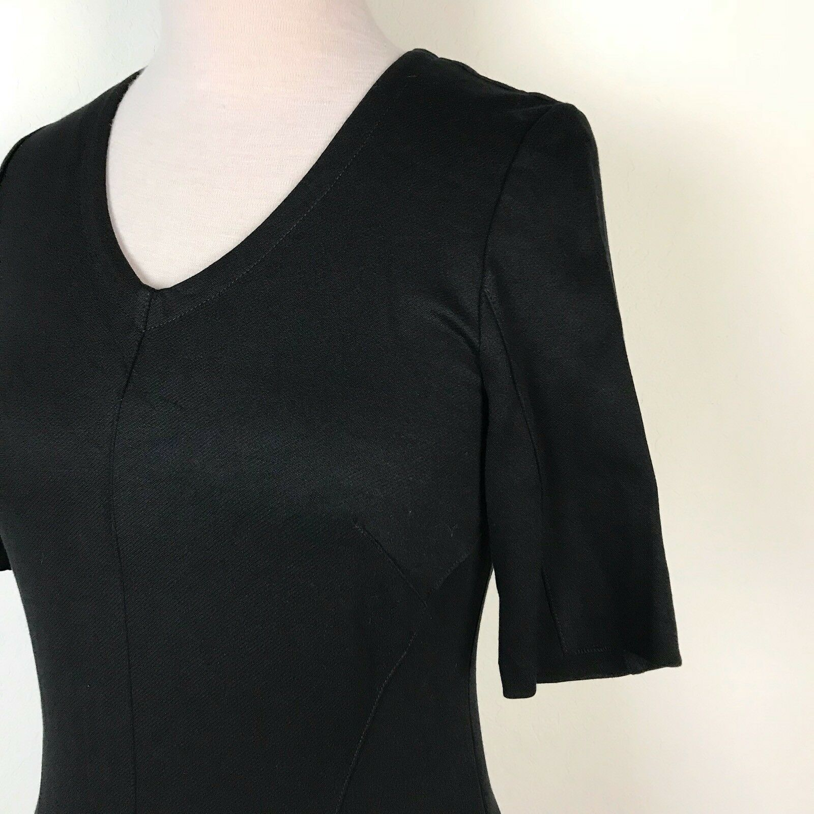 Cabi Claire Black Dress Career Evening LBD #3101 … - image 3