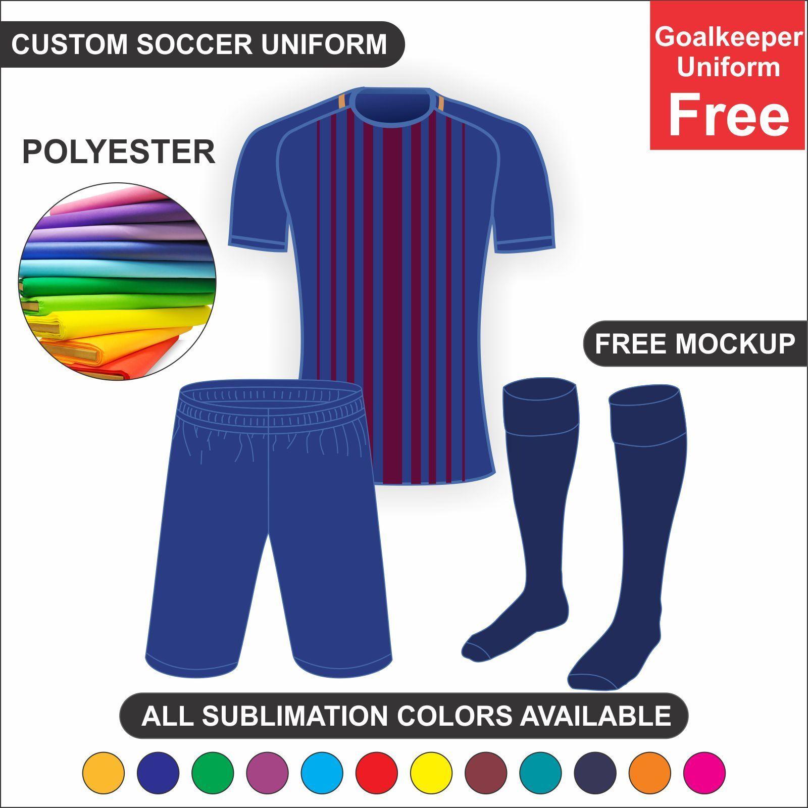 20 Juego de desgaste del equipo de fútbol uniforme Kit Personalizado Sublimación Football Club, Jersey
