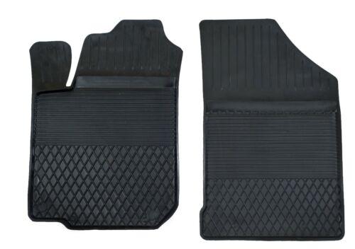 2 tappetini in gomma conducente passeggero con alto bordo si adatta per VW Scirocco II 81-92