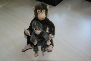 Gut Erhalten Reichhaltiges Angebot Und Schnelle Lieferung 8cm Und 12 Cm Pflichtbewusst 2 Steiff Affen