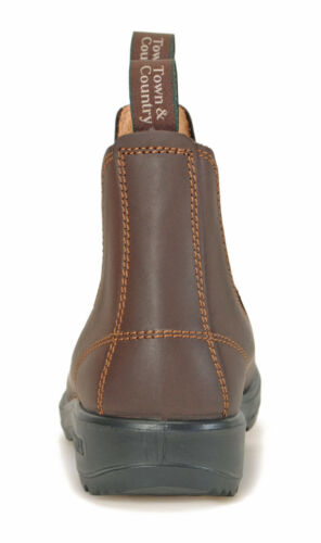 Jim Boomba Town /& Country Chelsea Boots Stiefelette Chestnut Braun Lederpflege
