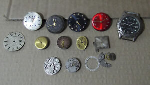 Lote-de-piezas-Reloj-relojes-para-piezas