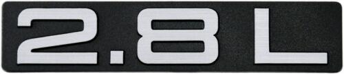 Auto 3d Autocollants Relief Bouclier 2,8 L 2.8 L 108 mm HR//Juge Art 14509