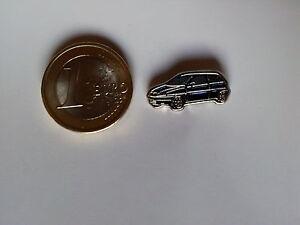 Collectibles-Brooch-Model-Car-Lancia-Ypsilon-Original-Blue-Glass-Silver-Pin