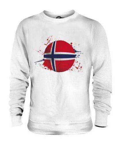 Norway Football Unisexe Pull Cadeau Coupe Du Monde Sport