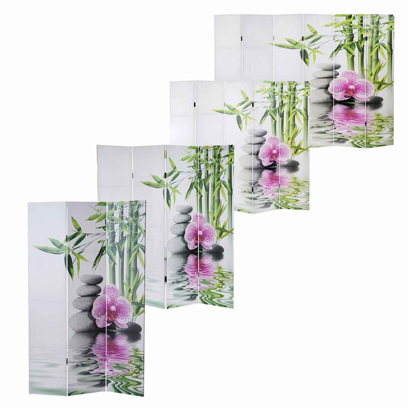 Foto-Paravent Kho Samui, Paravent Raumteiler Spanische Wand 160 200 240x180cm