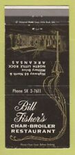 1960s Bill Fisher S Char Broiler Restaurant Highway 65 North Little Rock Ar Mb Ebay